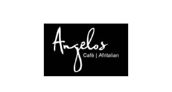 Angelos Coffee Shop Logo