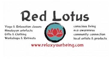 Red Lotus The Art of Conscious Living - Shop & Yoga Studio Logo