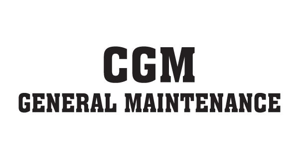 CGM General Maintenance Logo