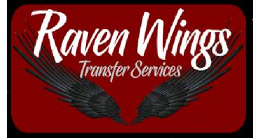 Raven Wings Transfer Service Logo