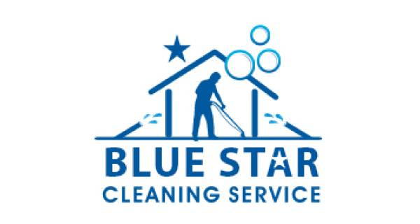 Blue Star Cleaning & Projects Logo