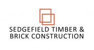 Sedgfield Timber & Brick Construction Logo