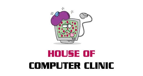 House of Computer Clinic Logo