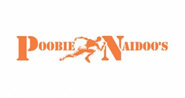 Poobie Naidoo's Sports Warehouse Logo