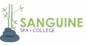Sanguine Spa & College Logo
