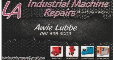 LA Industrial Machine Repairs Logo