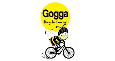 Gogga Bicycle Courier Logo