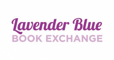 Lavender Blue Book Exchange Logo