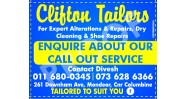 Clifton Tailors Logo