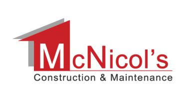 McNicol's Construction & Maintenance Logo