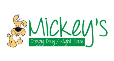 Mickey's Doggy Day Care Logo