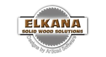 Elkana Solid Wood Solutions Logo