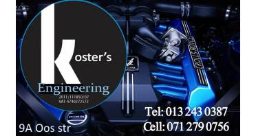 Koster's Engineering Logo