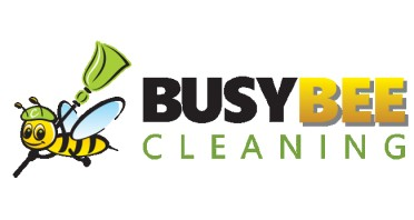 Busy Bee Cleaning Service Logo