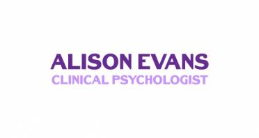 Alison Evans Clinical Psychologist Logo