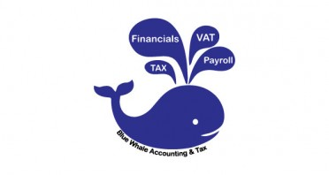 Blue Whale Accounting & Tax Logo