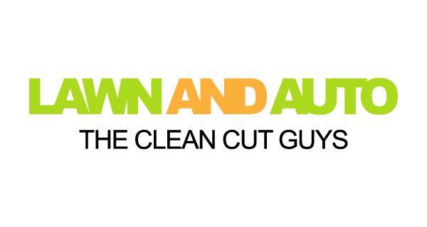 Lawn U0026 Auto Logo