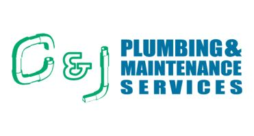 C and J Plumb and Maintenance Logo