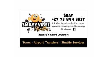 Smiley Vibez Shuttles Logo