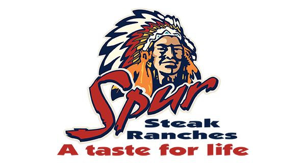Spur Steak Ranch Yellow Wood Logo