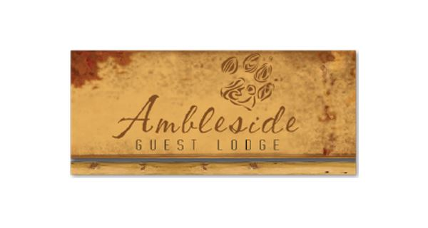 Ambleside Guest Lodge Logo