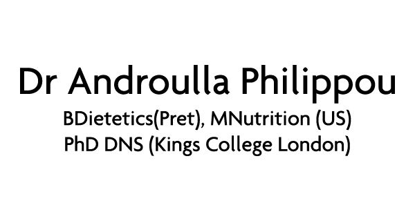 Dr Androulla Philippou Logo