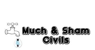 Much & Sham Civils Logo