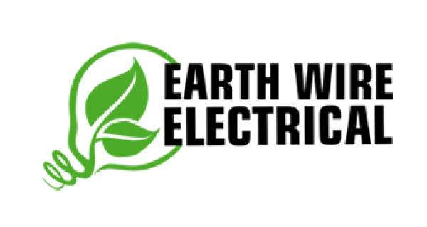 Earth Wire Electrical Logo