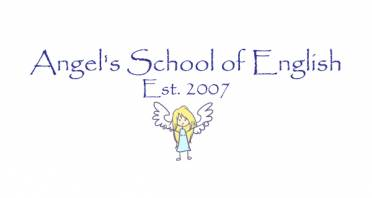 Angel's School of English Logo