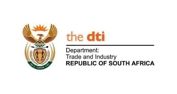 Department of Trade and Industry (DTI) Durban Logo