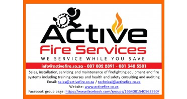 Active Fire Services Logo