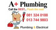 A+ Plumbing and Electrical Logo