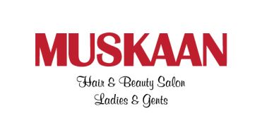 Muskaan Hair Salon Logo