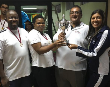 The head office held a sports tournament with the Auditor General SA Pietermaritzburg