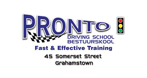 Pronto Driving School Logo