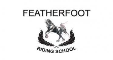 Featherfoot Horse Riding School Logo