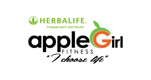 Apple Girl Fitness Logo