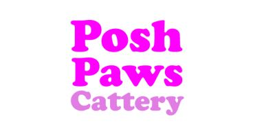 Posh Paws Cattery Logo