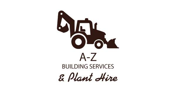 A-Z Building Contractors & Plant Hire Logo