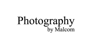 Photography by Malcolm Logo