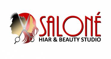 Saloné Hair & Beauty Studio Logo