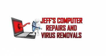 Jeff's Computer Repairs and Virus Removals Logo