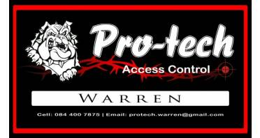 Pro Tech Access Control PTY Ltd Logo