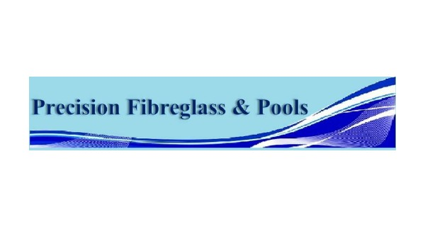 Precision Fibreglass & Pools Logo