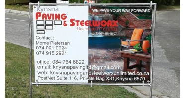 Knysna Paving & Steelworx Unlimited (PTY) Ltd  Logo