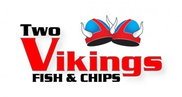 Two Vikings Fish & Chips  Logo