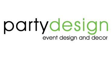Party Design Event Rentals Logo