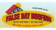 False Bay Roofing Logo