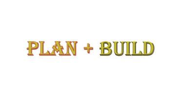 Plan & Build Logo
