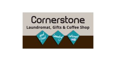 Cornerstone Coffee Shop Logo